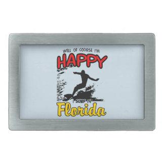 Happy Surfer FLORIDA (blk) Belt Buckles
