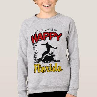 Happy Surfer FLORIDA (blk) Sweatshirt