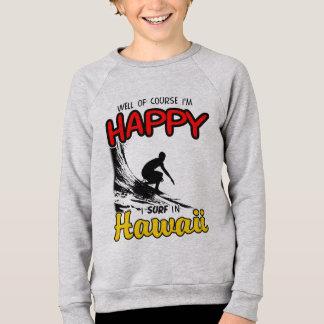 Happy Surfer HAWAII (blk) Sweatshirt