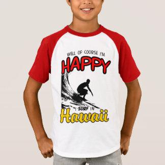 Happy Surfer HAWAII (blk) T-Shirt