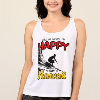 Happy Surfer HAWAII (blk) Tank Top