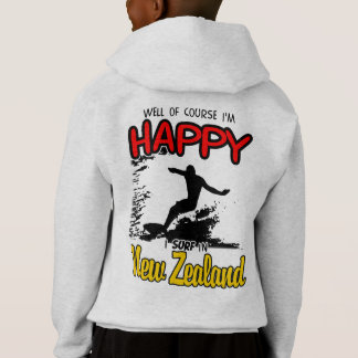 Happy Surfer NEW ZEALAND (Blk)