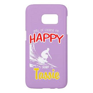 Happy Surfer TASSIE (Wht)