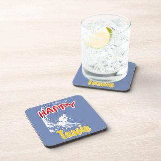 Happy Surfer TASSIE (Wht) Coasters