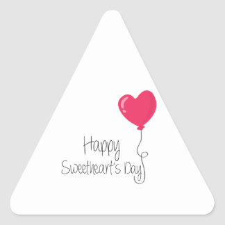 Happy Sweetheart's Day Stickers