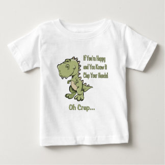 Happy T-Rex Baby T-Shirt