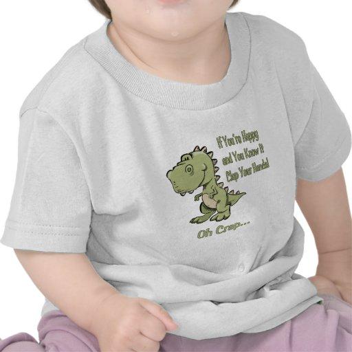 Happy T-Rex T-shirts