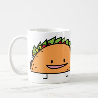 Happy Taco Basic White Mug