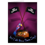"Happy ""Talk like a Pirate"" Day Greeting Card"