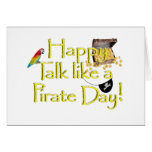 Happy Talk Like A Pirate Day! Greeting Cards