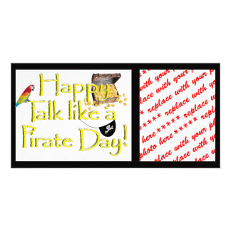 Happy Talk like a Pirate Day Photo Card