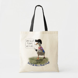 "Happy ""Talk like a Pirate"" Day (speech bubble) Bag"