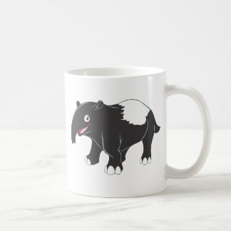 Happy Tapir Cartoon Coffee Mug