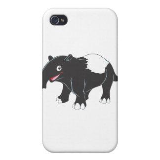 Happy Tapir Cartoon iPhone 4 Cover