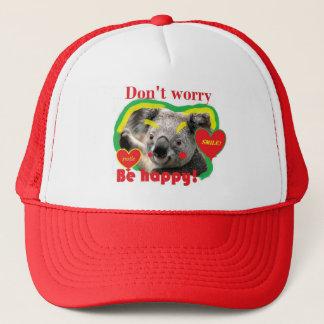 HAPPY teddy Trucker Hat