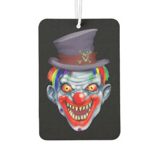 Happy Teeth Clown Air Freshener