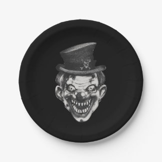 Happy Teeth Clown Paper Plate