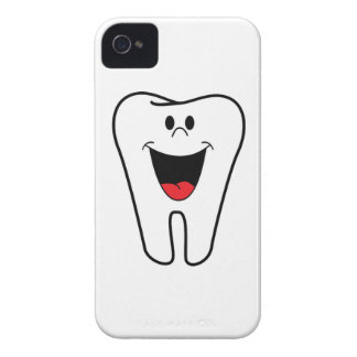 Happy teeth customizable for your Dental practice iPhone 4 Case-Mate Cases