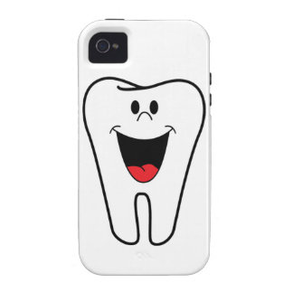 Happy teeth customizable for your Dental practice Case For The iPhone 4