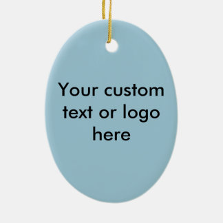 Happy teeth customizable for your Dental practice Ceramic Oval Decoration