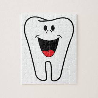 Happy teeth customizable for your Dental practice Jigsaw Puzzle