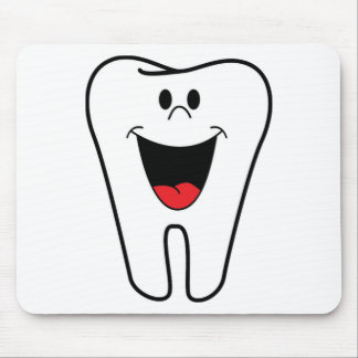 Happy teeth customizable for your Dental practice Mouse Pad