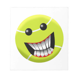 HAPPY TENNIS BALL NOTEPAD