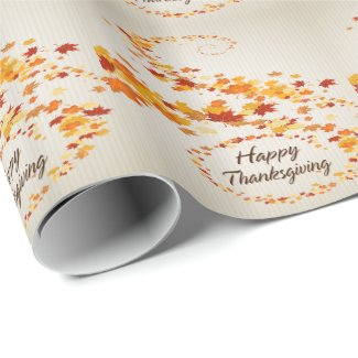 Happy Thanksgiving 4 Wrapping Paper