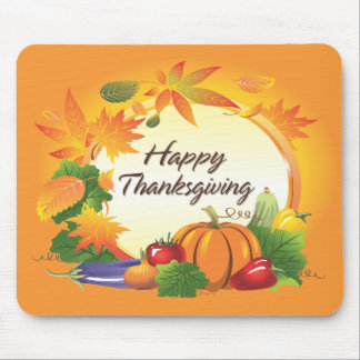Happy Thanksgiving 5 Mousepad