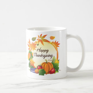 Happy Thanksgiving 5A Mug