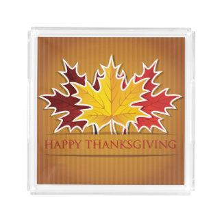 Happy Thanksgiving! Acrylic Tray