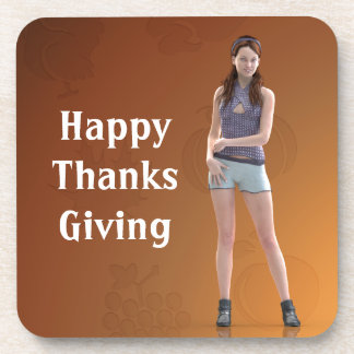 Happy Thanksgiving Bree Coasters