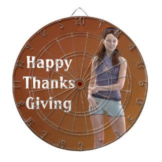 Happy Thanksgiving Bree Dart Boards
