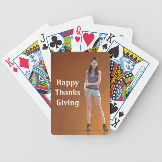 Happy Thanksgiving Bree Deck Of Cards