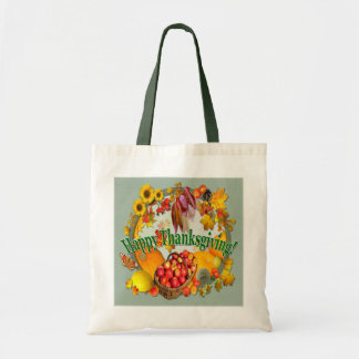 HAPPY THANKSGIVING  ~ Budget Tote