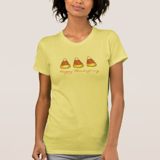 Happy Thanksgiving Candy Corn T-Shirt