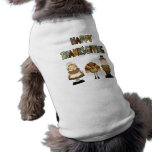 Happy Thanksgiving Dog Dog Clothes