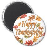 Happy Thanksgiving Fridge Magnets