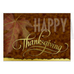 Happy Thanksgiving-Golden