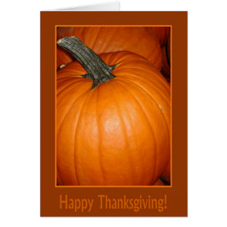 Happy Thanksgiving! Greeting Card