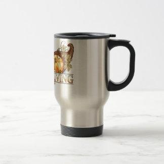 Happy Thanksgiving Horn Of Plenty Coffee Mug