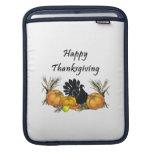 Happy Thanksgiving iPad Sleeve