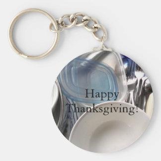 Happy Thanksgiving Key Chain