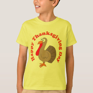 Happy Thanksgiving Kids T-Shirt