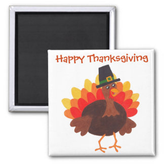 Happy  Thanksgiving - Magnet