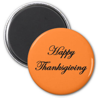 """Happy Thanksgiving"" Magnet"
