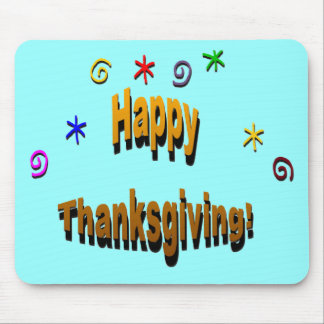Happy Thanksgiving Mouse Pad