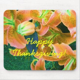 Happy Thanksgiving Mousepad Mousepads