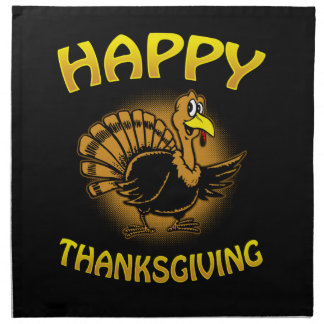 Happy Thanksgiving Napkin