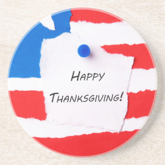 Happy Thanksgiving Notepad Coaster